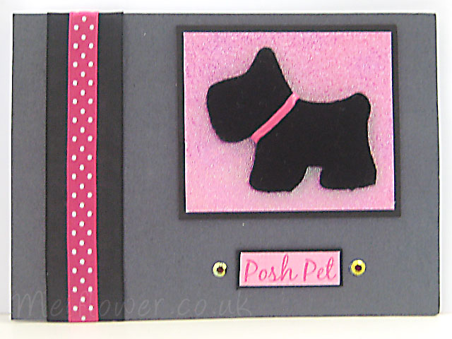 Dogs cards ideas padded scottie dog bookmarktalkfo Image collections