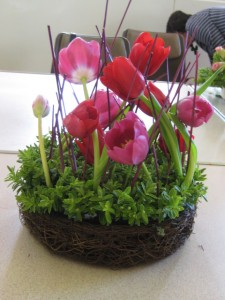 Spring arrangment