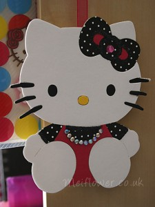 Hello Kitty Sizzix Die Cut