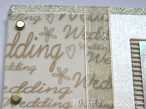 Wedding card ideal for invitations or personal