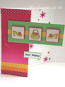 Handbag and shoes birthday card