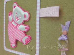 Close up of Cute Dancing Bear Card