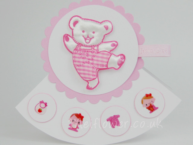 Baby Card Making Ideas Part - 36: Rocker Card Design For Baby Cards, Christening Cards, Birthday Cards