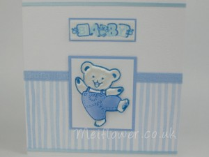 Baby card for new arrival
