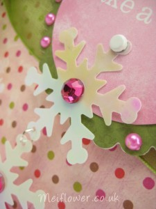 Snowflake used for Christmas Card