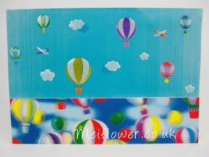 Childrens birthday using holographic balloons and gel balloon stickers