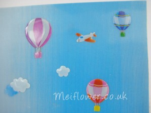Gel novelty stickers for Kids birthday cards