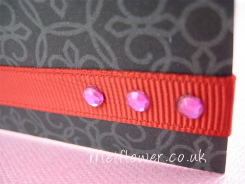 Good quality grosgrain ribbon for card making, scrapbooking, sewing, gift wrapping