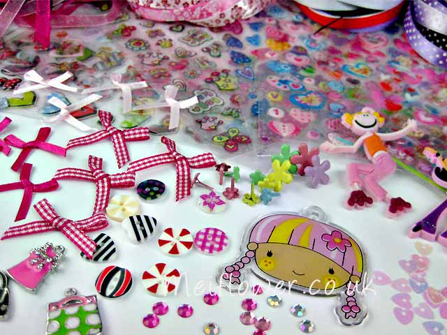 blog candy embellishments