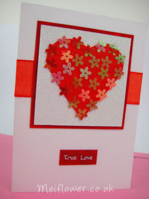 Good Love Card Making Ideas Part - 14: Valentines Day Handmade Card