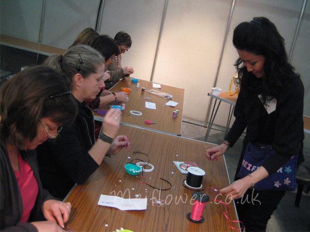 Teaching card making techniques