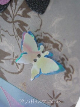 Butterfly and flower card for a special occasion